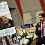 Justin Trudeau Says He'll Call Himself A Feminist 'Until It's Met With A Shrug'