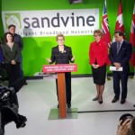 Sandvine gets $15 million Ontario grant, creating 75 new jobs