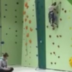 Surrey Employee fired for texting while girl stuck on climbing wall (Video)