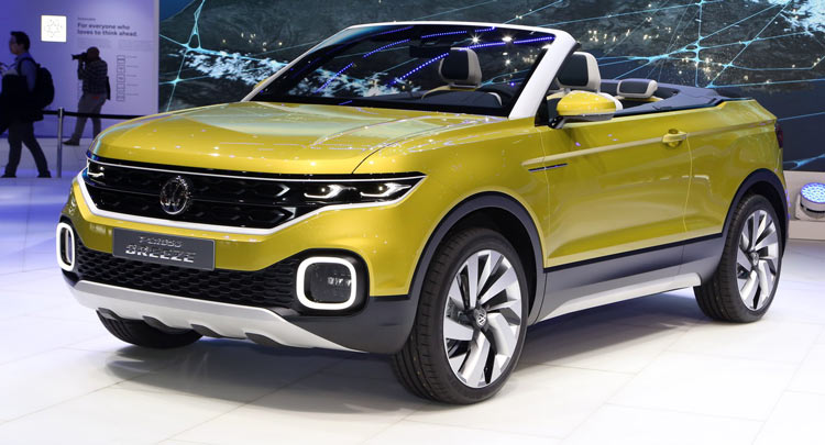 volkswagen t cross breeze revealed the compact evoque convertible from vw canada journal. Black Bedroom Furniture Sets. Home Design Ideas