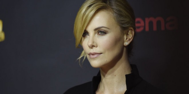 Charlize Theron revs up for Fast and Furious 8