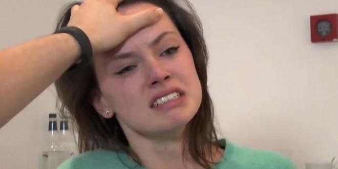 Daisy Ridley Audition Shows a Familiar Scene (Video)