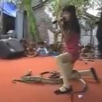 Indonesian Pop Star Dies After Cobra Bite During Concert (Video)