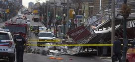 "Structure collapses in Toronto, at least seven injured ""Photo"""