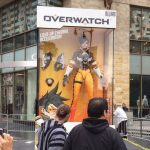 Giant Overwatch action figures discovered worldwide