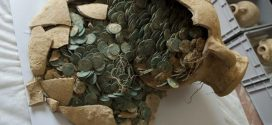 "Haul of ancient Roman coins unearthed ""Photo"""
