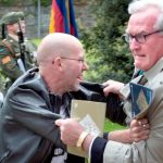 Kevin Vickers: Canadian ambassador tackles man at ceremony in Dublin