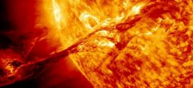 Solar Superflares May Have Sparked Life by Warming Earth