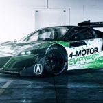 2017 Acura NSX Racing Debut at Pikes Peak (Photo)