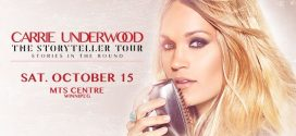 Country songstress Carrie Underwood Returning to Winnipeg in the Fall