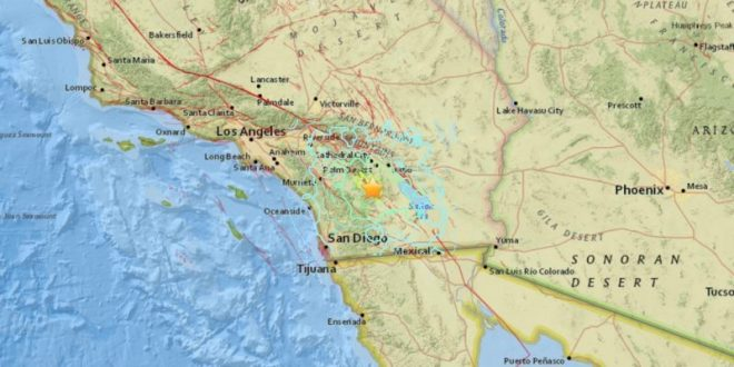 Moderate 5.2 earthquake hits California