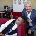 Richard Branson busts Virgin employee 'napping' (Photo)
