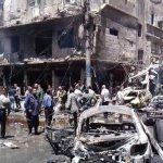 Twin Bombings near Shiite Shrine Kill over 20 in Damascus