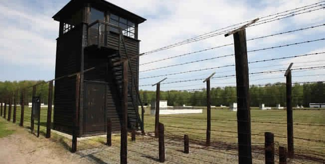Concentration camp suspects identified, Report