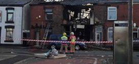 Manchester house explosion: Man dies after huge blast destroys family home
