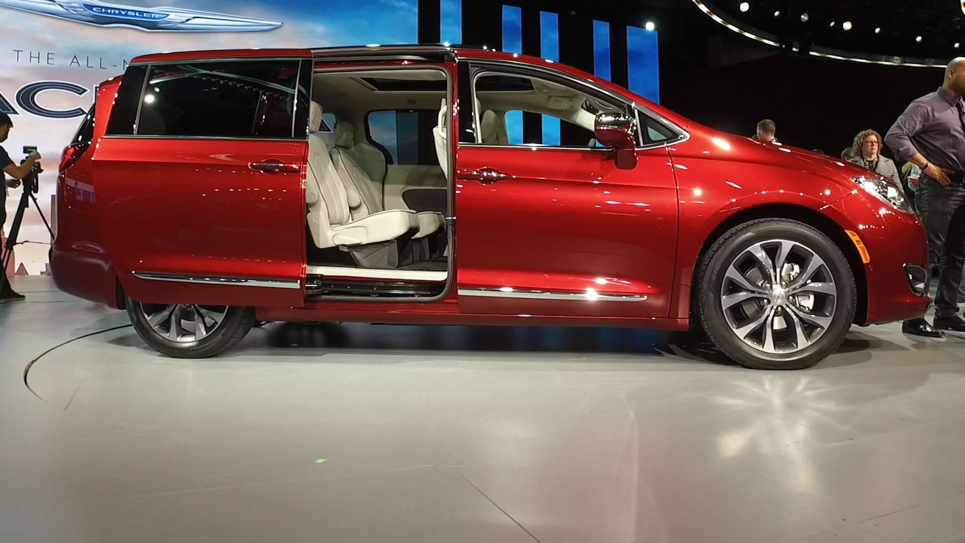 2017 Chrysler Pacifica The Minivan Reinvented Video