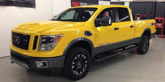 A Close Look at the 2016 Nissan Titan XD PRO-4X (Video)