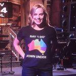 Actrice Margot Robbie urges Australia to legalise same-sex marriage