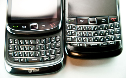 Alex Thurber: BlackBerry will have new keyboard model within six months