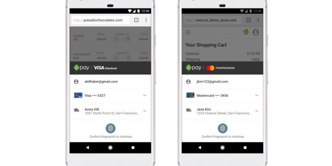 """Android Pay Expands Online Presence With Visa And Mastercard """"Report"""""""