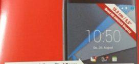 New BlackBerry DTEK60 could arrive in Europe on October 25