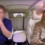 Singer Lady Gaga Goes All-In for Carpool Karaoke with James Corden