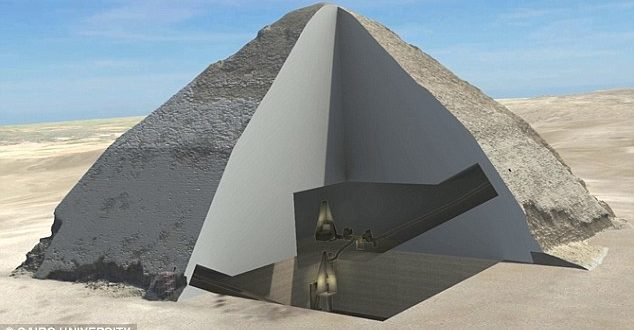 Two Mysterious Chambers May Have Been Found In The Great Pyramid