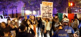 "More anti-Trump protests held across US ""Video"""