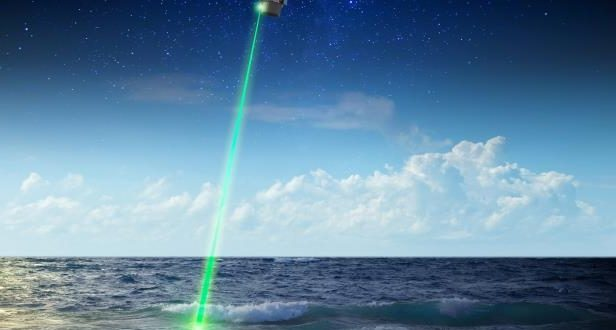 NASA's giant laser is used to study phytoplankton