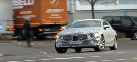 New Mercedes-Benz CLE spotted testing (Video)