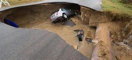 Texas Sinkhole Kills One, Injures Two (Photo)