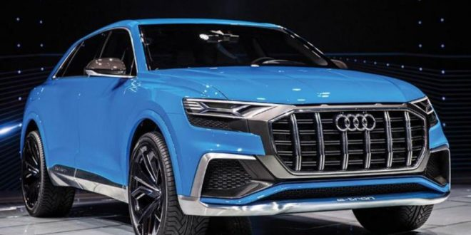 2018 audi q8 concept debuts in detroit motor show video canada journal news of the world. Black Bedroom Furniture Sets. Home Design Ideas