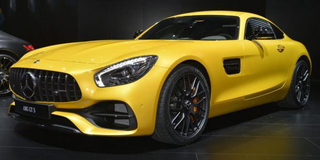 2018 Mercedes-AMG GT C: More power and active aero for all!