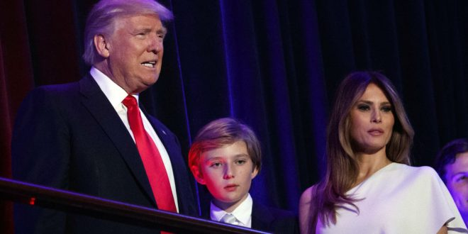 Barron Trump Bullied: White House asks press to respect Trump children's privacy