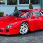 Eric Clapton's Ferrari F40 Is Actually A Damn Good Deal (Photo)