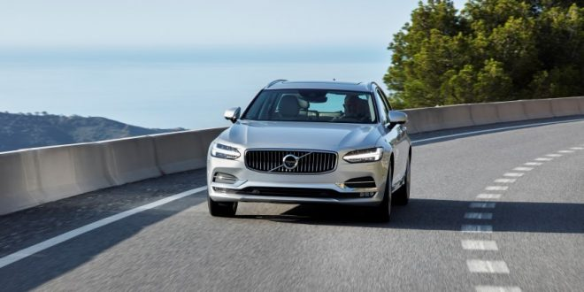 Euro NCAP: 2017 Volvo S90/V90 score five-star safety rating