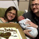 Luke and Hillary Gardner of Baldwyn Share Birthday With New Son