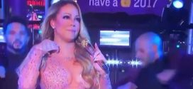 Mariah Carey's awkward New Year's Eve performance (Video)