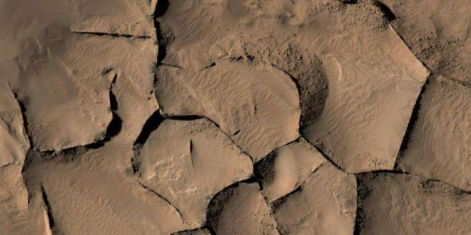 Ridges on Mars have variety of origins, says new research