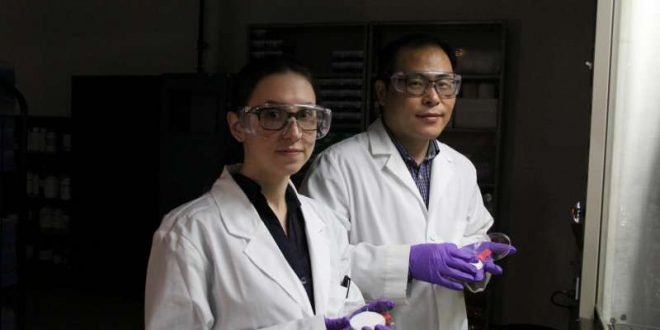 Scientist makes improvements to surgical masks