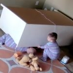 Twin Saves Brother Trapped Under Dresser (Video)