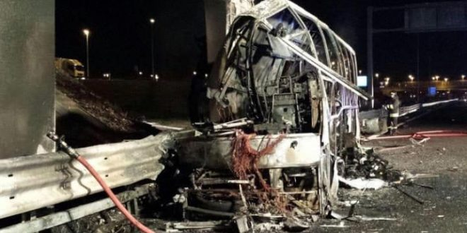 Verona Bus Crash leaves more than a dozen dead
