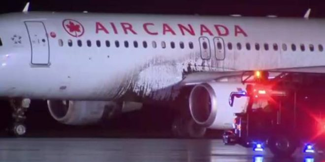 Air Canada Plane skids off runway, TSB examining weather conditions