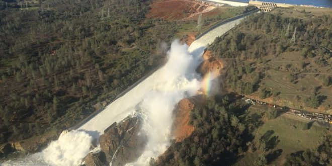 BREAKING: Evacuations ordered below damaged California dam