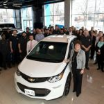 Chevrolet Delivers First Bolt EVs to Canadian Customers, Report