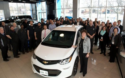 "Chevrolet Delivers First Bolt EVs to Canadian Customers ""Report"""