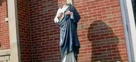 Indiana Jesus Christ Statue Vandalized, Head Missing (Photo)