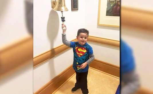 Jimmy Spagnolo: Boy Celebration Dance at the End of His Chemo Treatments Will Warm Your Heart (Watch)