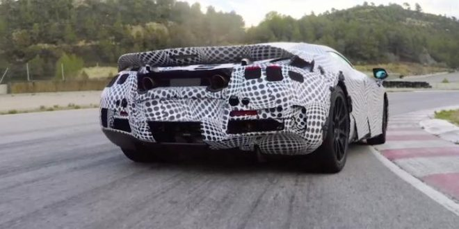 McLaren 650S replacement teased again (Watch)