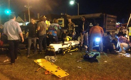 New Orleans Parade Crash: 28 hurt; injuries not life-threatening; driver apparently drunk